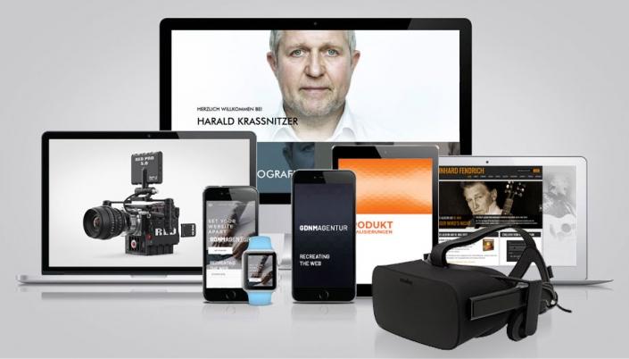 Web- und interaktive Projekte